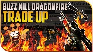 M4A4 BUZZ KILL ODER SSG 08 Dragonfire STATTRAK Trade Up 160$ Teurer Spaß CS:GO