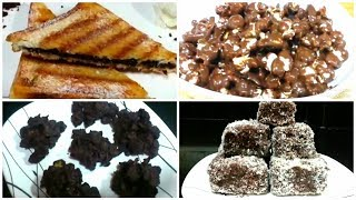 6 Easy Diy Chocolate Treats | QUICK CHOCOLATE BITE | LIFE HACKS | CRAZY CHOCOLATE RECIPES