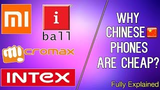 WHY CHINESE PHONES ARE CHEAP ?? EXPLAINED IN BENGALI...!!!!