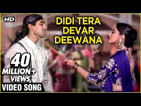 Xxx Mp4 Didi Tera Devar Deewana HD Hum Aapke Hain Koun Lata SPB Duet Best Romantic Song 3gp Sex