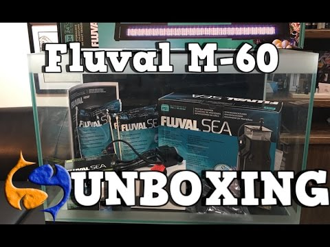 Fluval M-60 Complete Reef System Unboxing
