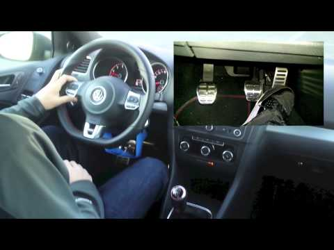How to drive a vehicle with a manual transmission hill start rev match starting the car