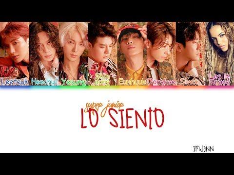 Super Junior - Lo Siento (ft. Leslie Grace) |Sub. Español + Color Coded| (HAN/ROM/ESP)