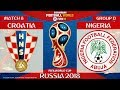 Croatia vs Nigeria ⚽️ | FIFA World Cup Russia 2018 | MATCH 8 | 16/06/2018 | FIFA 18