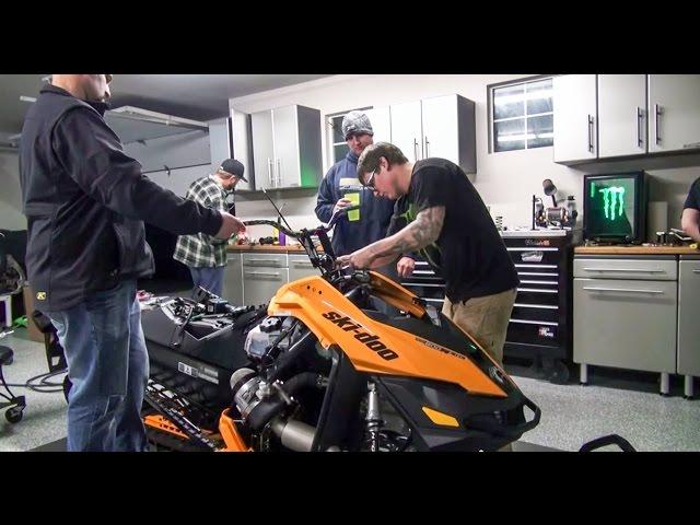 Heath Frisby's Ski-Doo Summit XM: Turbo Install
