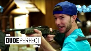 Dude Perfect Takes Over Bass Pro Shop | The Dude Perfect Show