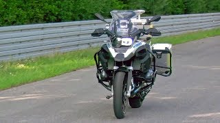 First-Ever Autonomous Motorcycle – Demonstration – BMW R 1200 GS