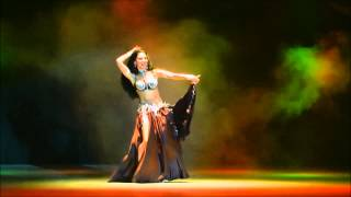 Аmira Abdi - seductive bellydancing to rebetico song Misirlou 2015