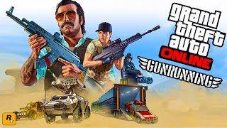 GTA 5 GUNRUNNING MILITARY DLC $$$ SPENDING SPREE - CUSTOMIZING EVERYTHING - GTA 5 GUNRUNNING UPDATE