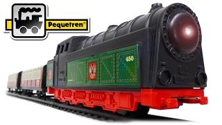 TRAINS FOR CHILDREN VIDEO: Pequetren Ref 450 Transiberian Express Moscow-Vladivostok Toys Review