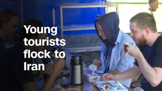 Young tourists flock to Iran