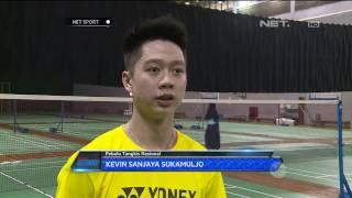Uniknya Service Kevin Sanjaya Sukamuljo yang Bikin Lawan Kesal