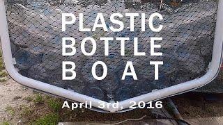 Plastic Bottle Boat - Stepping Up