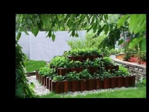 Как оригинально посадить клубнику на даче