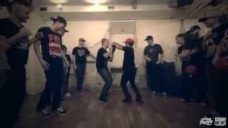 Baby Tight Eyez & Slam vs J Gully & J Slam | Baby EYEX Krump Tour RUSSIA