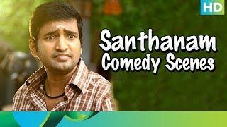 Santhanam Comedy Scenes - Muppozhudhum Un Karpanaigal - Tamil Movie