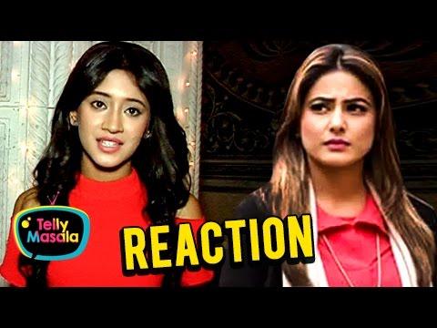 EXCLUSIVE! Shivangi Joshi aka Naira REACTS On Hina Khan's TANTRUMS | Ye Rishta Kya Kehlata Hai