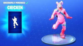 *NEW* CHICKEN DANCE EMOTE!! Fortnite Battle Royale