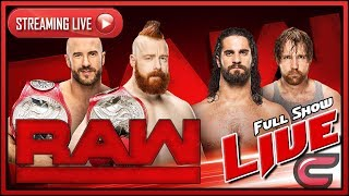 WWE RAW Live Stream Full Show December 4th 2017 Live Reactions