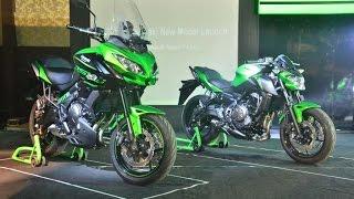 2017 Kawasaki Ninja 300, Z650, Ninja 650, Z900 Launch - Live | MotorBeam