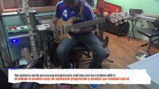 bass guitar Tutorial #6 easy (african 6/8) groove