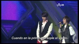 The Strongest K POP Survival Dueto Ji Seung Yeon & Kwon Ji Woo Sub. español