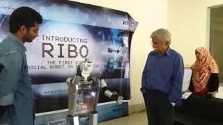 RIBO - The first ever social robot made in Bangladesh