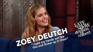 Zoey Deutch Needed Snow Boots For The Women