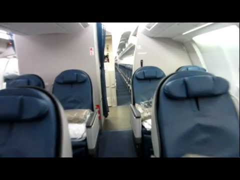 Delta Airbus 330 300 cabin tour Old