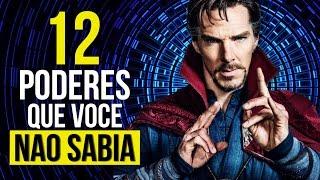 DOUTOR ESTRANHO - 12 PODERES QUE ELE POSSUI E QUE VOCÊ TALVEZ NÃO SABIA