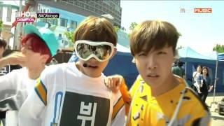 [ENG SUB] 150704 BTS- Show champion backstage