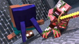 Top 5 Minecraft Herobrine Life - Minecraft Animation