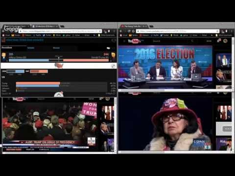 Pussygrabber ElectionDay ElectionNight Stream