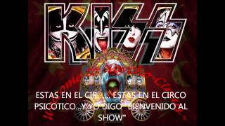 KISS psycho circus subtitulado