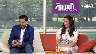 صباح_العربية: مقدم صباح العربية يتعلم الانجليزية على الهواء