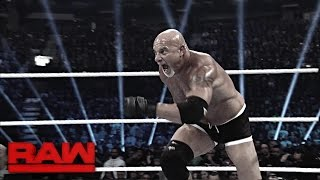 Relive Goldberg's journey to the Royal Rumble Match: Raw, Dec. 26, 2016