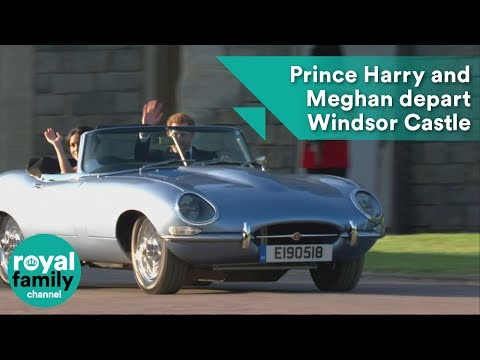 Xxx Mp4 Prince Harry And Meghan Markle Depart Windsor Castle In Classic Open Top Sports Car 3gp Sex