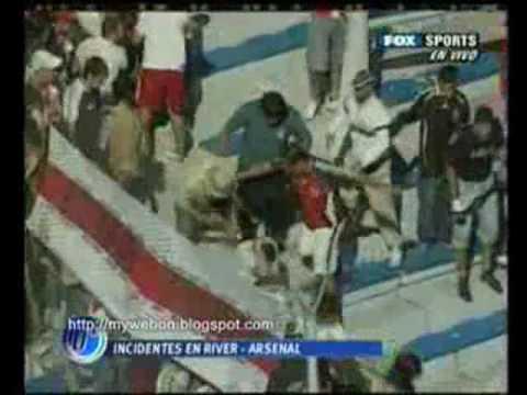 Football hooligans South America Barra Bravas