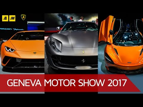 Top 3 supersportive al Salone di Ginevra 2017