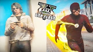 GTA 5 PC - The Flash VS Quicksilver ! The Real Fastest Man Alive ! (Ultimate Flash Mod)