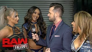 Mickie James, Alicia Fox &  Dana Brooke look to seize the opportunity: Raw Fallout, Dec. 19, 2017