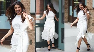 Priyanka Chopra Hot In White Dress At Tribeca Film Festival 2017