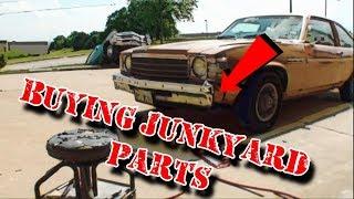 Overpriced Junkyard Parts Make It Hard To Restore A Car - Part 1