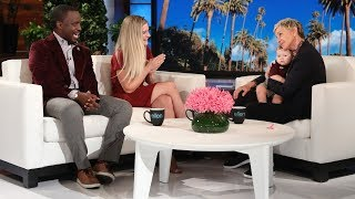 Ellen Chats with Single Mom Ashton Robinson and Her Professor Henry Musoma