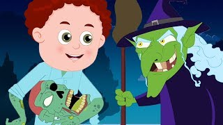 Trick Or Treat | Schoolies | Scary Nursery Rhymes | Songs Collection For Children By Kids Channel