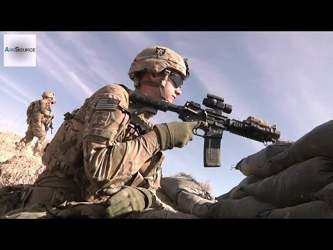 watch United States Army Infantry Dismounted Patrol in Panjwa'i District, Afghanistan