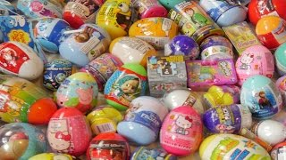 100 Surprise Eggs  Compilation with 100+ Surprise Toys Kinder Surprise