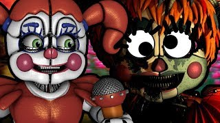 CIRCUS BABY REACTS TO: How to Make Five Nights at Freddy's 6 NOT Scary (ft. Dark Box)
