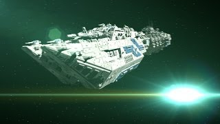 Epic Space Battle Scenes - Animation Tests // C4D