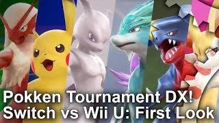 Pokken Tournament DX: Switch vs Wii U Graphics Comparison + First Look Analysis!